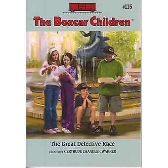 The Great Detective Race by Robert Papp - Gertrude Chandler Warner -