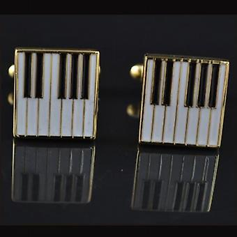 Tiger Mini Piano Mens Cufflinks