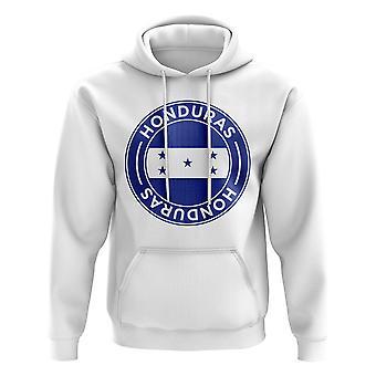 Honduras Football Badge Hoodie (White)