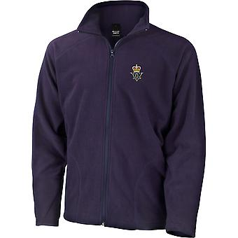 5th Royal Inniskilling Dragoon Guards - Licensed British Army Embroidered Lightweight Microfleece Jacket