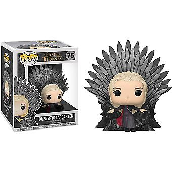 Game of Thrones Daenerys on Iron Throne Pop! Deluxe