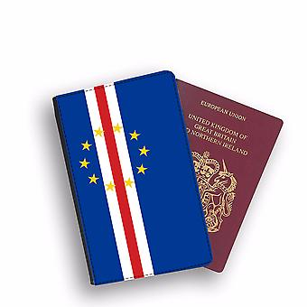 CABO VERDE Flag Passport Holder Style Case Cover Protective Wallet Flags design