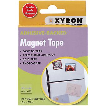 Adhesive Back Magnetic Tape Dispenser 1 2