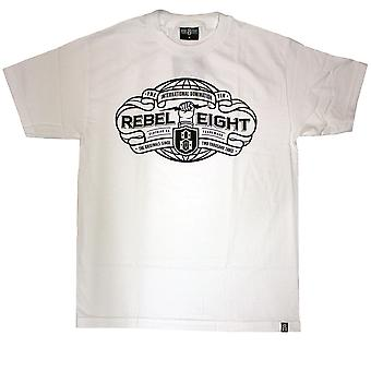 Rebel8 International Domination T-shirt White