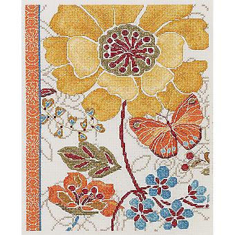 Spiced Bouquet Counted Cross Stitch Kit-8
