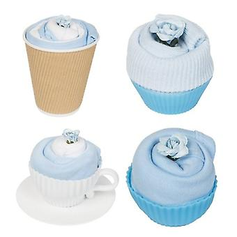 Afternoon Tea-Party - Geschenk-Set - Kornblumenblau