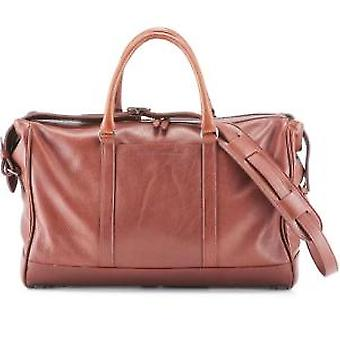 Daines & Hathaway Finsbury Caramelo Brown Overnight Bag