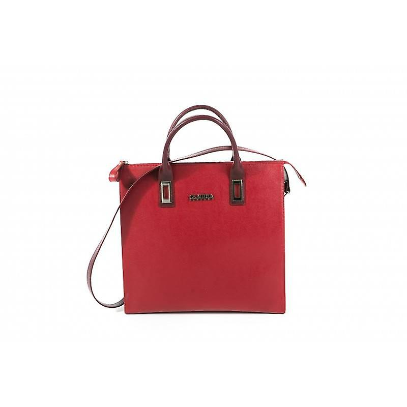 Claudia Firenze designer handbag red