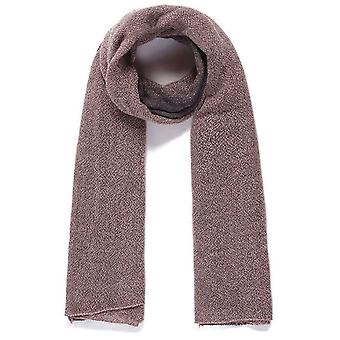 Jewel City Thick Woven Long Scarf - Pink