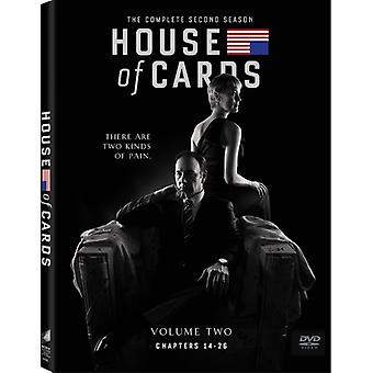 House of Cards: The Complete Second Season [DVD] USA import
