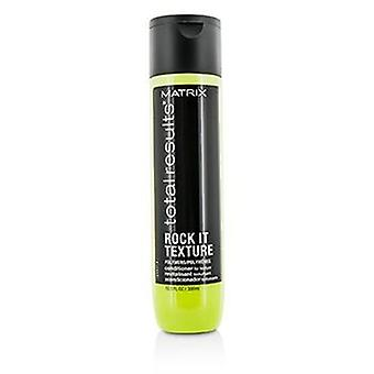 Matrix Total Results Rock It Texture Polymers Conditioner (For Texture) - 300ml/10.1oz