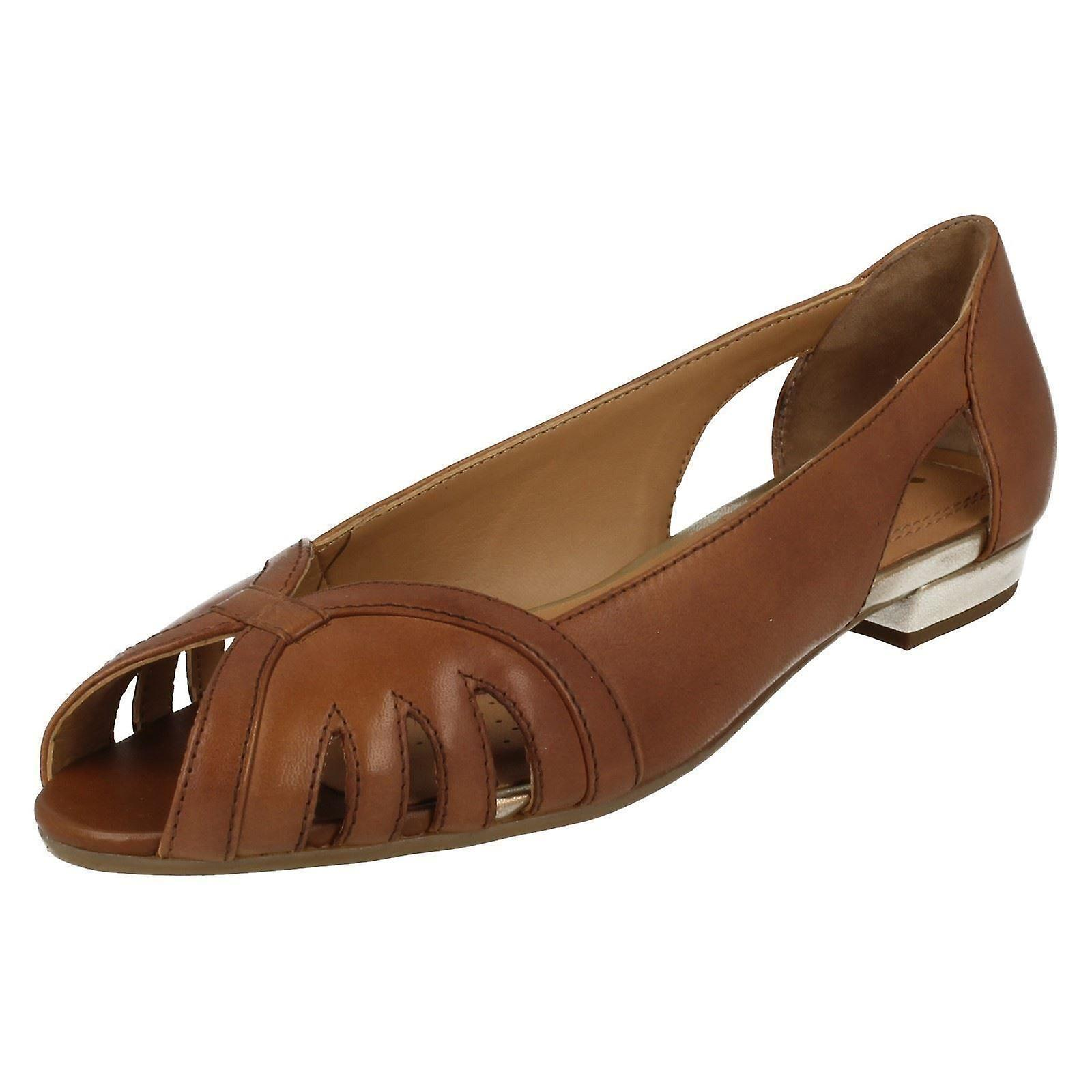 Damen Van Dal Peep Toe Schuhe Perry