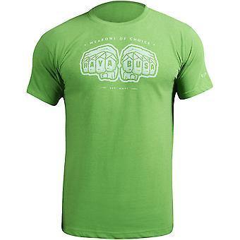Хаябуса оружие выбор футболку-зеленый