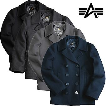 Alpha Industries Mantel Pea Coat USN