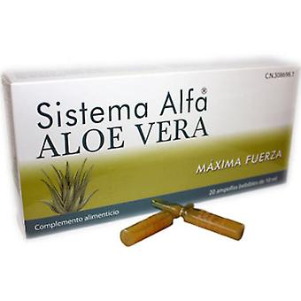 Mahen Alfa System Aloe Vera 20 Amp. (Diet , Supplements)