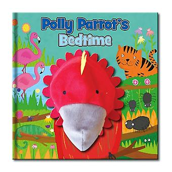 Large Hand Puppet Book - Polly Parrot's Bedtime (Hardcover)