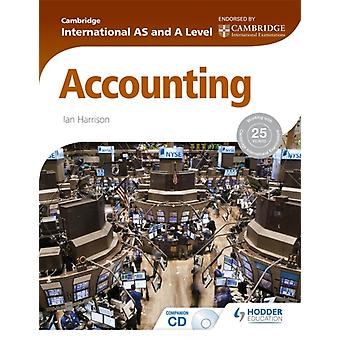 Cambridge International AS and A Level Accounting (Paperback) by Harrisson Ian