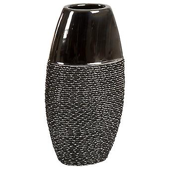 Wellindal Ceramic Vase Silver / Gray (Decoration , Jars)