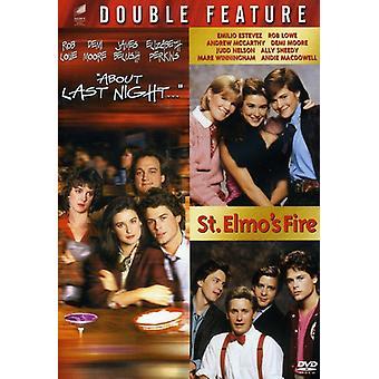 Over de laatste nacht/st. Elmo's Fire [DVD] USA importeren