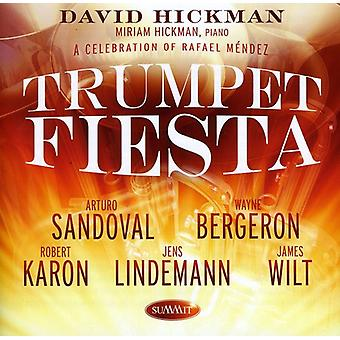 David Hickman - Trumpet Fiesta: A Celebration of Rafael Mendez [CD] USA import