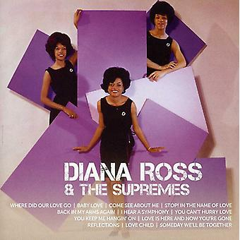 Diana Ross & the Supremes - Icon [CD] USA import