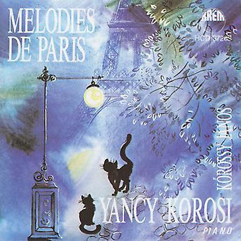 Yancy Korosi - importación USA melodías De Paris [CD]