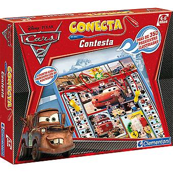 Clementoni Cars 2 Plug Answer (Toys , Boardgames , Knowledge)