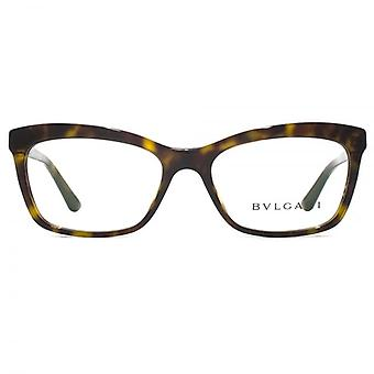 Bvlgari BV4116B Glasses In Dark Havana