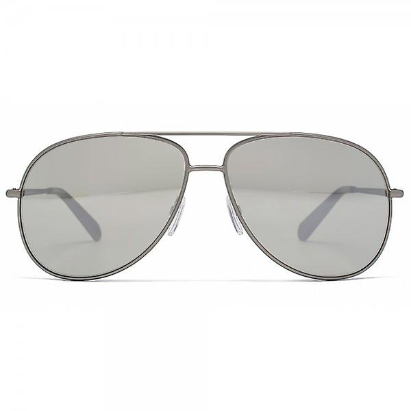 Marc Jacobs Aviator Sunglasses In Silver Mirror
