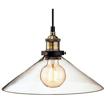 Firstlight Vintage Antique Brass Fisherman Hanging Ceiling Light