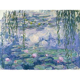 Claude Monet - waterlelies (Nympheas) 1916 Poster Print Giclee