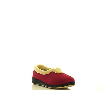 Padders Womens Slipper Carmen Red