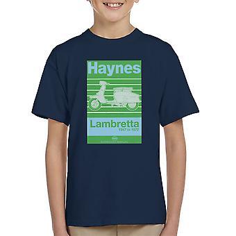 Haynes Owners Workshop Manual Lambretta 47 tot en met 72 Kid's T-Shirt