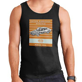 Haynes Workshop Manual 0765 Saab 900 Turbo Stripe Men's Vest