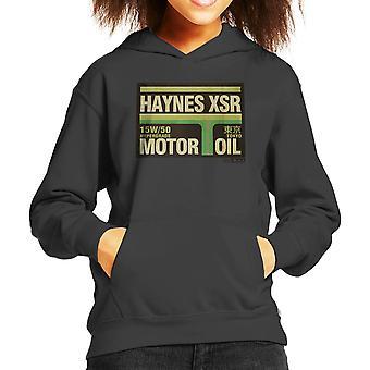 Haynes Marke XSR Tokio Motoröl Kinder Sweatshirt mit Kapuze
