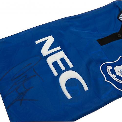 Everton Ferguson Signed Shirt