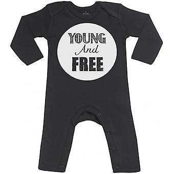 Spoilt Rotten Young And Free Baby Footless Romper