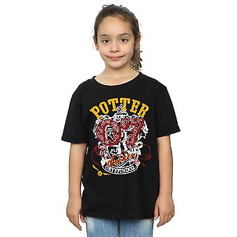 Harry Potter Girls Gryffindor Seeker T-Shirt