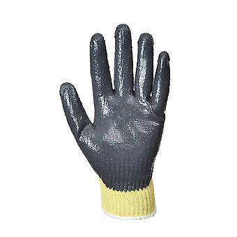 Portwest - Cut 3 Resistant Kevlar-Nitrile Grip Glove One Pair Pack