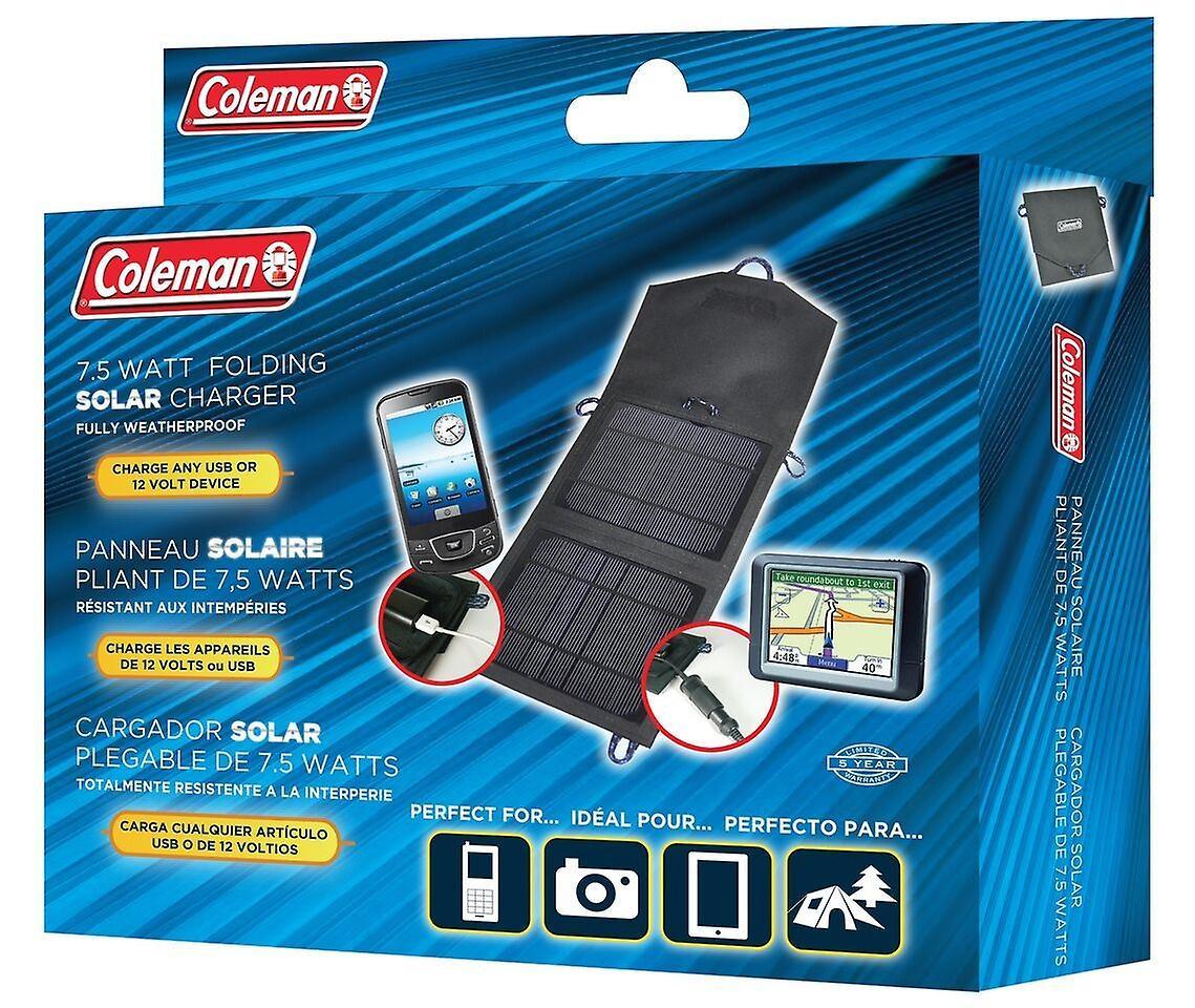 Sunforce Coleman Solar Charging panels Car Motorbike Battery Chargers