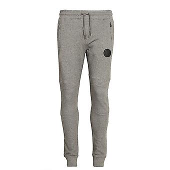 883 POLICE Lawrence Cuffed Jogger Sweatpants | Marl Grey