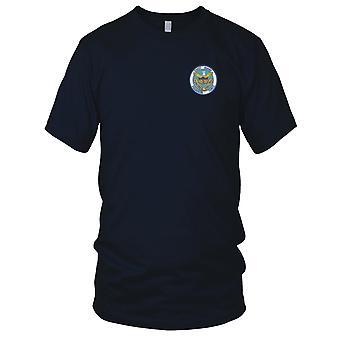 US Coast Guard USCG - CGRON-3 Squadron drie 1967-1971 Vietnam geborduurd Patch - Vietnam dames T Shirt