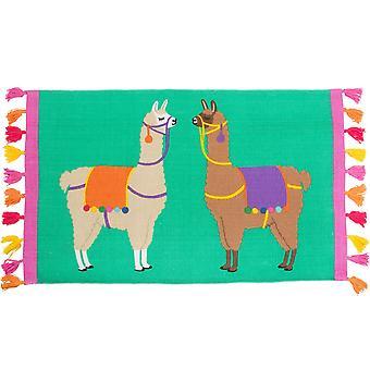 Сасс & Belle Лима лама кисточкой ковер