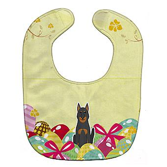 Carolines Treasures  BB6080BIB Easter Eggs Beauce Shepherd Dog Baby Bib