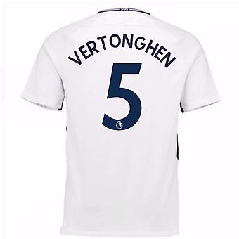 2017-18 Tottenham hem skjorta (Vertonghen 5) - barn