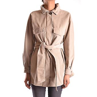 Peuterey women MCBI235108O beige cotton trench coat
