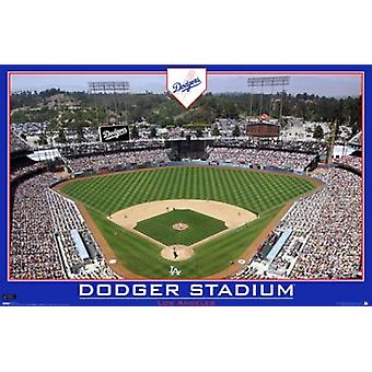 Los Angeles Dodgers - Dodger Stadium Poster Print