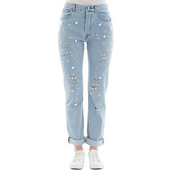 Forte Couture ladies FC1SS18104 light blue cotton of jeans