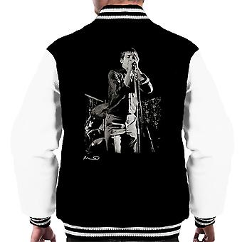 Ian Curtis canto presso Bowdon Vale Youth Club Varsity Jacket gioia divisione maschile