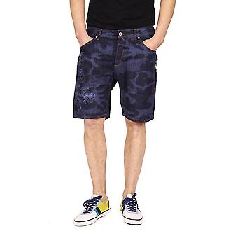 Just Cavalli Mens Shorts Blue Clothing Men Shorts